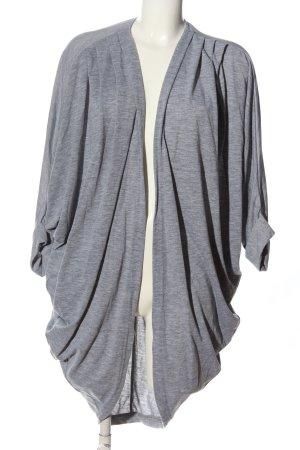 American Apparel Cardigan gris clair moucheté style décontracté