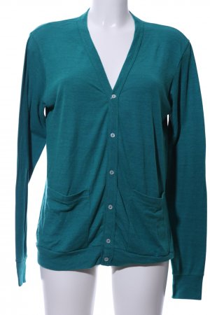 American Apparel Cardigan blau Casual-Look