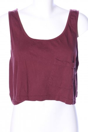 American Apparel Cropped Top rot Casual-Look