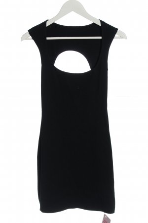 American Apparel Cut-Out-Kleid schwarz Casual-Look