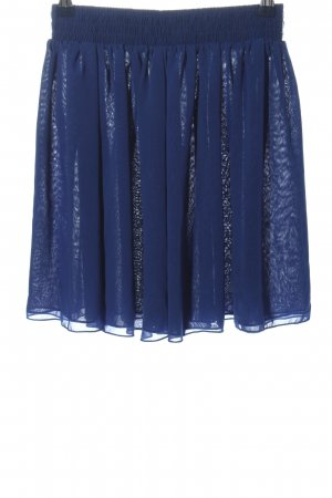American Apparel Flared Skirt blue casual look