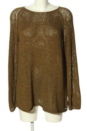 American Apparel Jersey de punto grueso color bronce Patrón de tejido