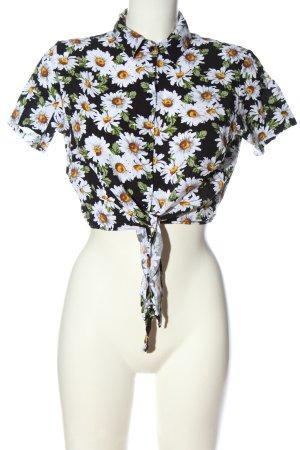 American Apparel Shirt Blouse flower pattern casual look