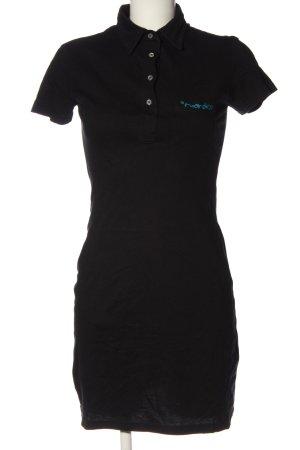 American Apparel Hemdblusenkleid schwarz Casual-Look