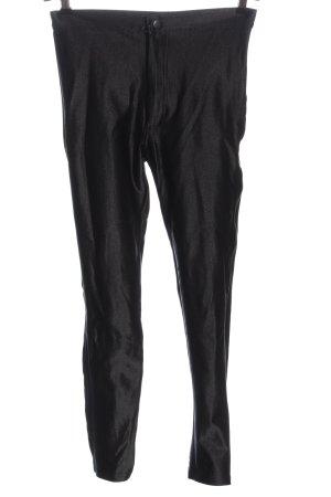 American Apparel Hoge taille broek zwart casual uitstraling