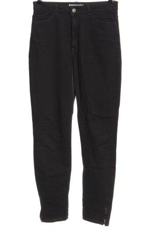 American Apparel High Waist Jeans schwarz Casual-Look