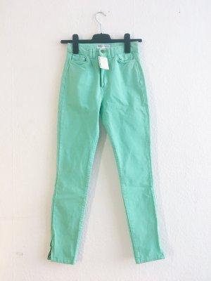 American Apparel High Waist Trousers mint