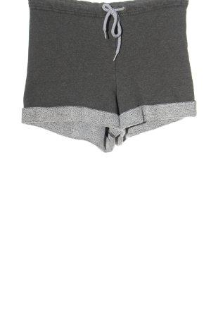 American Apparel Hot Pants hellgrau meliert Casual-Look