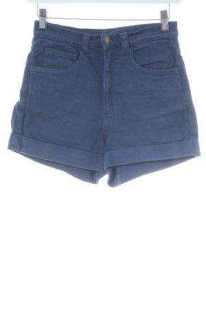 American Apparel Hot pants blauw Beach-look