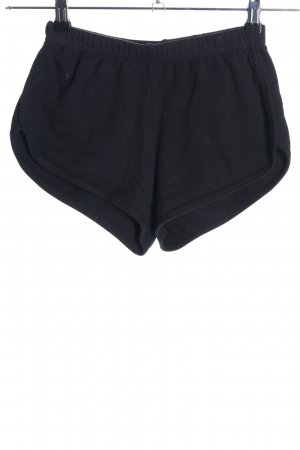 American Apparel Hot pants nero stile casual