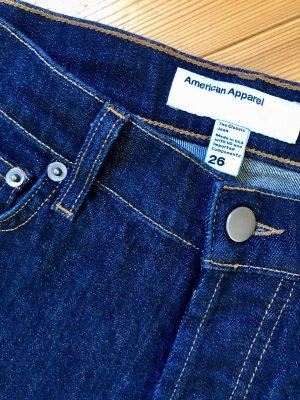 American Apparel Jeans met rechte pijpen donkerblauw