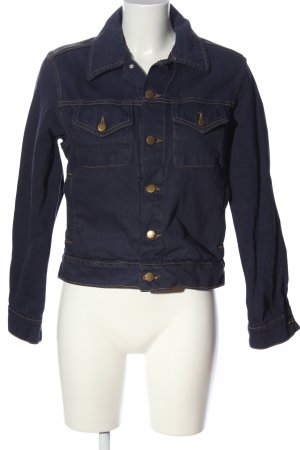 American Apparel Jeansjacke blau Casual-Look