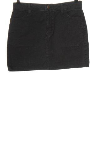 American Apparel Spijkerrok zwart casual uitstraling