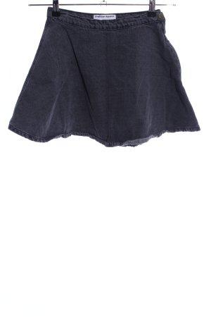 American Apparel Jeansrock blau Casual-Look