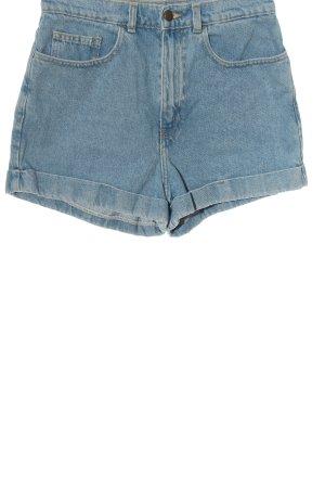 American Apparel Jeansshorts blau Casual-Look