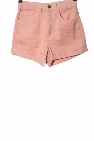 American Apparel Jeansshorts pink Casual-Look