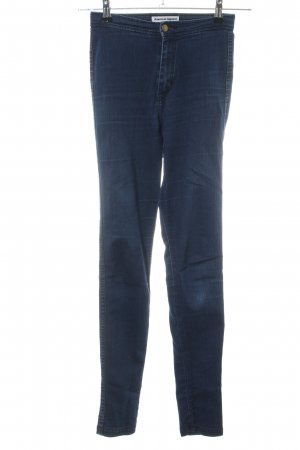 American Apparel Jeggings blau Casual-Look