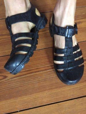 American Apparel, Jelly Sandals, schwarz, Gr. 36,5 (35,5/ 6)