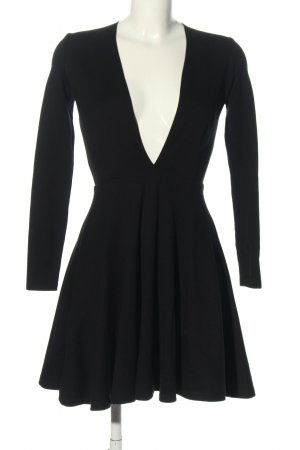 American Apparel Jerseykleid schwarz Casual-Look