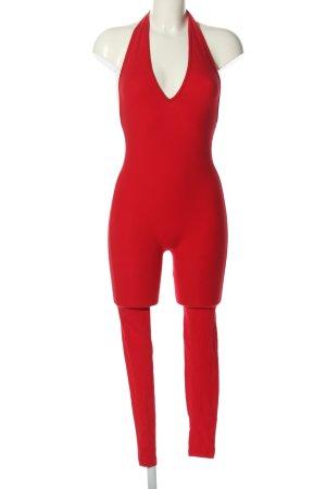 American Apparel Jumpsuit rot Elegant