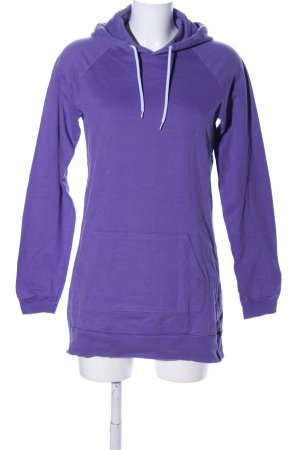 American Apparel Capuchon sweater lila casual uitstraling