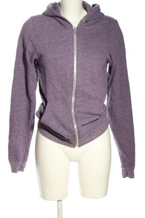 American Apparel Sweatshirt met capuchon lila casual uitstraling