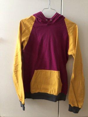 American Apparel Sweatshirt met capuchon veelkleurig Katoen