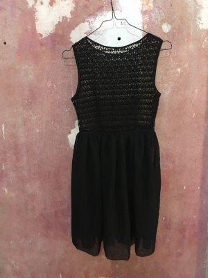 American Apparel Chiffon jurk zwart