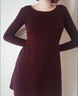 American Apparel Stretch jurk bordeaux