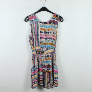 American Apparel Vestido cut out multicolor Viscosa
