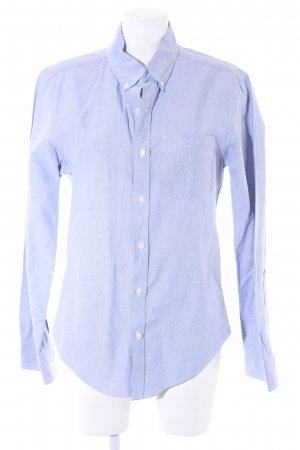 "American Apparel Long Sleeve Shirt ""Slimfit Oxford"" light blue"