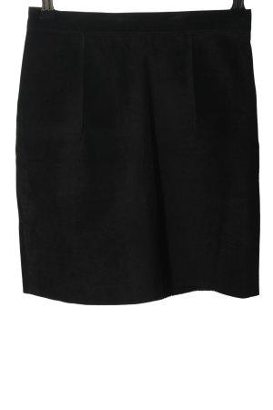 American Apparel Lederrock schwarz Casual-Look