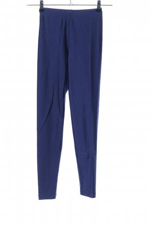 American Apparel Leggings blau sportlicher Stil