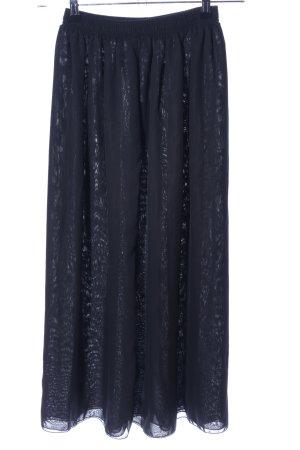 American Apparel Maxi rok blauw casual uitstraling