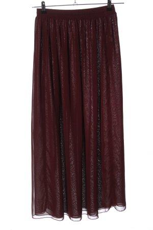 American Apparel Falda larga rojo look casual