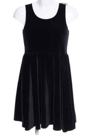 American Apparel Mini-jurk zwart wetlook