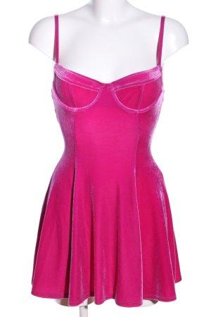 American Apparel Mini-jurk roze extravagante stijl