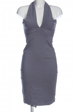 American Apparel Minikleid hellgrau Elegant