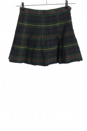 American Apparel Miniskirt check pattern casual look