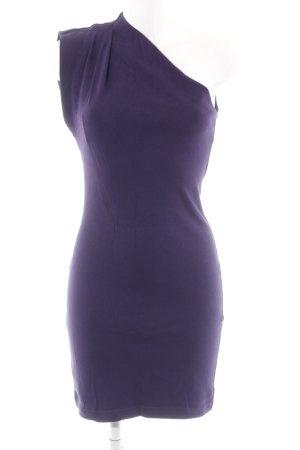 American Apparel One-Shoulder-Kleid dunkelviolett schlichter Stil