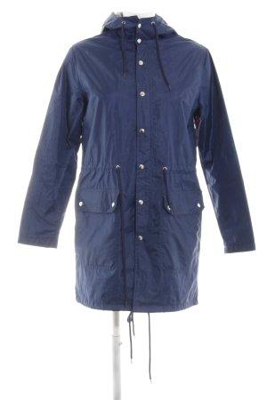 American Apparel Regenjacke blau Casual-Look