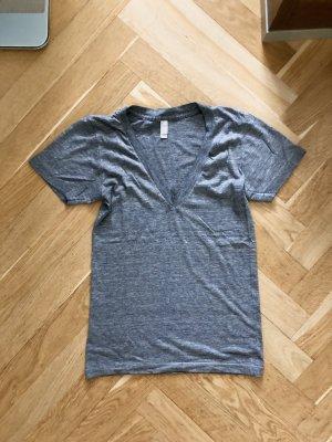 American Apparel S 36 T-Shirt Grau