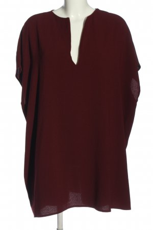 American Apparel Slip-over Blouse red casual look