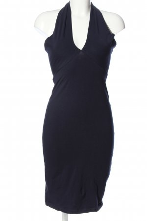 American Apparel Halter Dress blue elegant