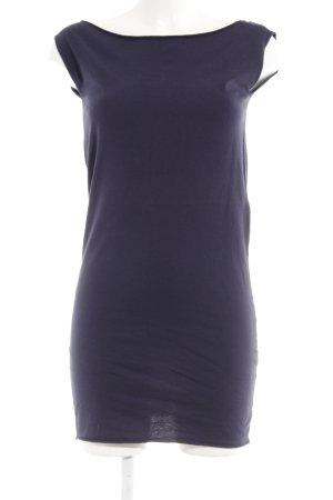 American Apparel Shirtkleid dunkelblau sportlicher Stil