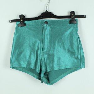 AMERICAN APPAREL Shorts Gr. S grün metallic (20/08/034*)