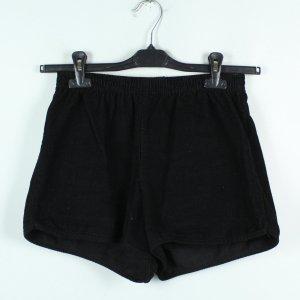 AMERICAN APPAREL Shorts Gr. S schwarz corduroy (20/02/452)