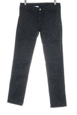 American Apparel Jeans slim noir style décontracté