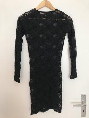 American Apparel Lace Dress black nylon