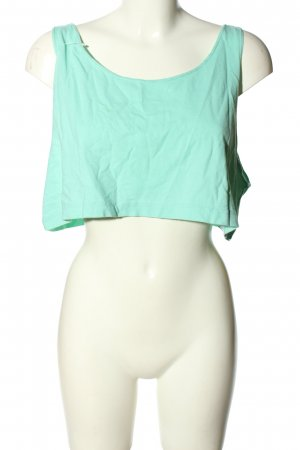 American Apparel Sports Tank turquoise casual look